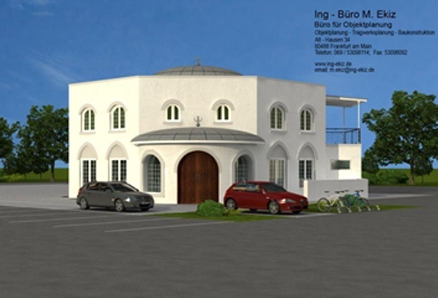 Projekt: Neubau Vereinshaus + Moschee,  Dreieich
